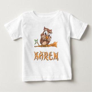 Karen Owl Baby T-Shirt