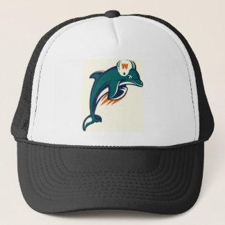 Karl J Fulton West Side Dolphins Under 14 Trucker Hat