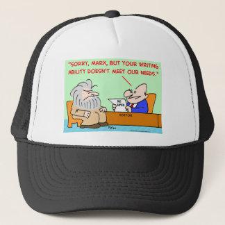 karl marx ability needs trucker hat