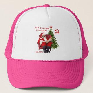 Karl Marx Santa Trucker Hat