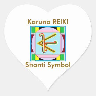 KARUNA Reiki : Shanti Peace be with all Sticker