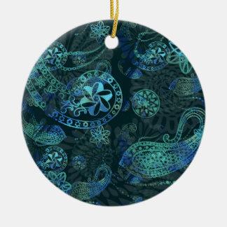 Kashmir - Deep Sea Christmas Ornament