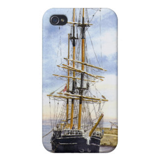 'Kaskelot Enters Charlestown Harbour' iPhone 4 Cas Case For iPhone 4