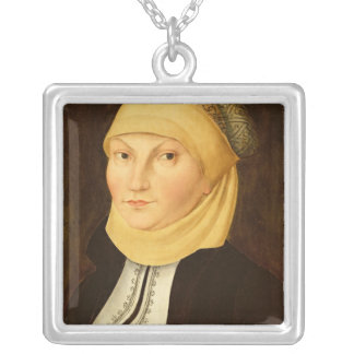Katharina Luther , 1528 Silver Plated Necklace