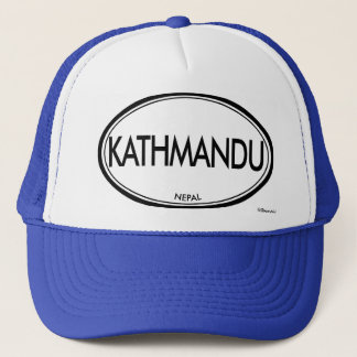 Kathmandu, Nepal Trucker Hat