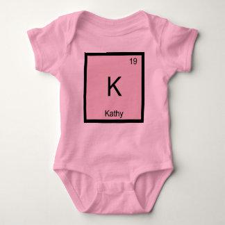 Kathy  Name Chemistry Element Periodic Table Baby Bodysuit