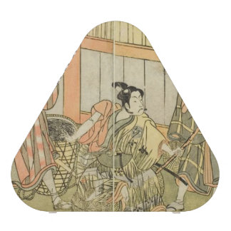 Katsukawa Shunsho Three Actors Speaker