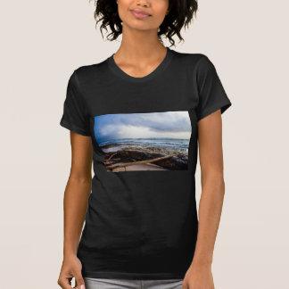 Kauai beach with driftwood T-Shirt