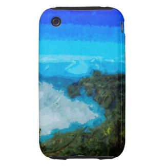 Kauai Na Pali Coast From Koke'e Abstract iPhone 3 Tough Cover