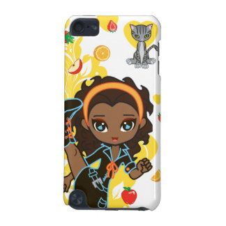 Kawaii Aisha the African American Chibi iPod Case