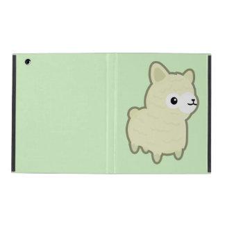 Kawaii alpaca iPad case