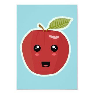 Kawaii Apple Card