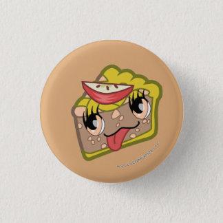 Kawaii Apple Pie Slice Button