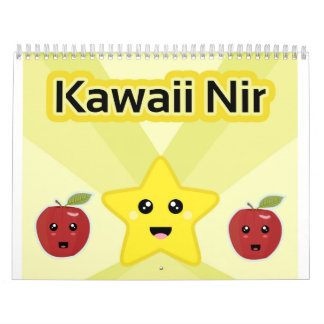 Kawaii Awesome Calendars