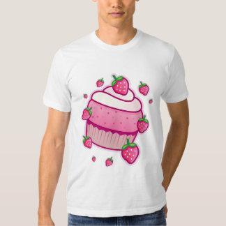 kawaii berry cupcake tshirts