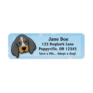 Kawaii Bluetick Coonhound