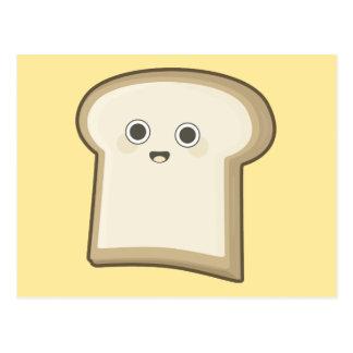 Kawaii Bread Postcard