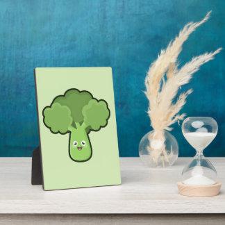 Kawaii Broccoli Plaque