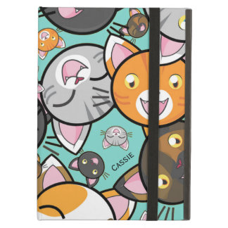 Kawaii Cats iPad Air Folio Case