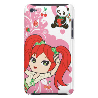 Kawaii Coco the School Girl Chibi iPod Barely There iPod Case