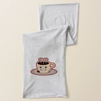 Kawaii Coffee Scarf