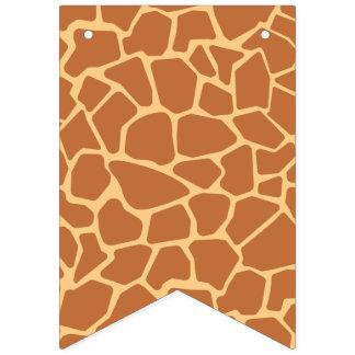 Kawaii Cute Giraffe Pattern. Bunting