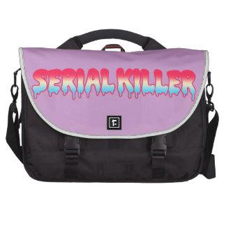 Kawaii Cute Serial Killer Melty Ombre Pastel Laptop Commuter Bag