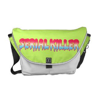 Kawaii Cute Serial Killer Melty Ombre Pastel Messenger Bags
