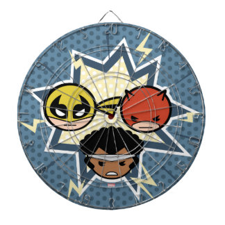 Kawaii Defenders Dartboard