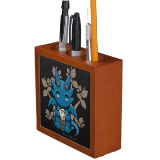 Kawaii Dice Dragon Desk Pencil Organizer Pencil Holder