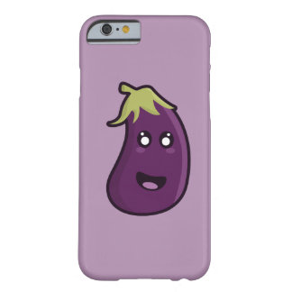 Kawaii eggplant barely there iPhone 6 case