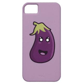 Kawaii eggplant iPhone 5 cover