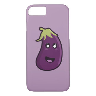 Kawaii eggplant iPhone 7 case