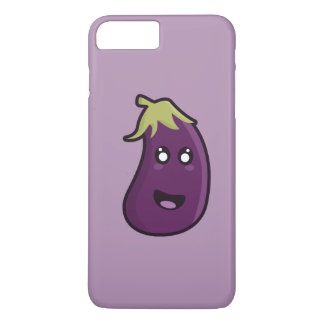 Kawaii eggplant iPhone 8 plus/7 plus case