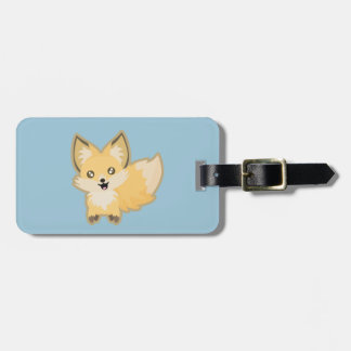 Kawaii Fox Luggage Tag