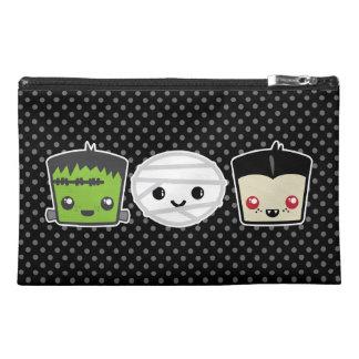 Kawaii Frankenstein Mummy Dracula Travel Bag