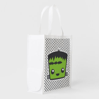 Kawaii Frankenstein Reusable Bag