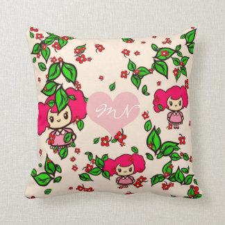 Kawaii Girl PinkyP SweetLolita Personalized Cushion