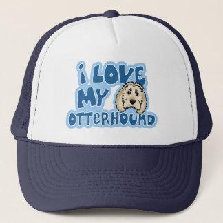 Kawaii I Love My Otterhound Trucker Hat
