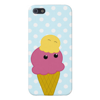 Kawaii Ice Cream Cone Case For iPhone 5/5S