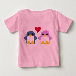 kawaii infant penguins love sweety tweety baby T-Shirt
