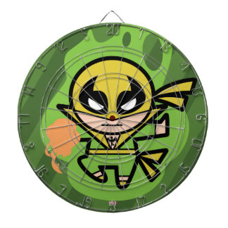 Kawaii Iron Fist Chi Manipulation Dartboard