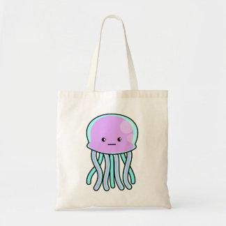Kawaii Jellyfish Tote Bag
