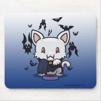 Kawaii Kitty Dracula Mousepads