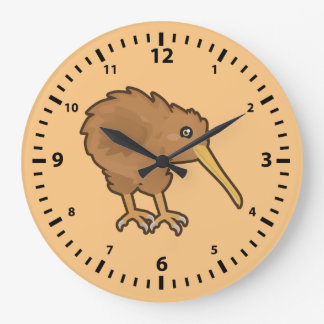Kawaii Kiwi Large Clock