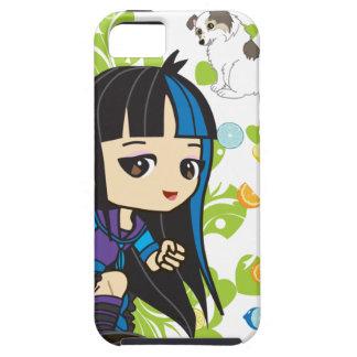 Kawaii Mika the Punk Girl Chibi Tough iPhone 5 Case