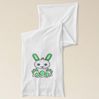 Kawaii Mint Green Bunny Scarf