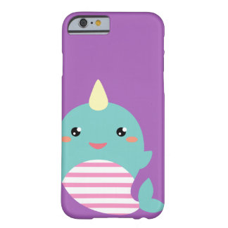 Kawaii Narwhal Barely There iPhone 6 Case