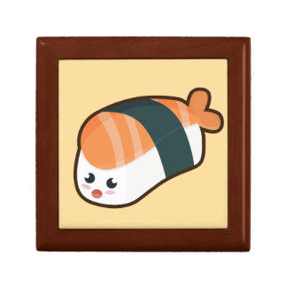 Kawaii nigiri Salmon Small Square Gift Box