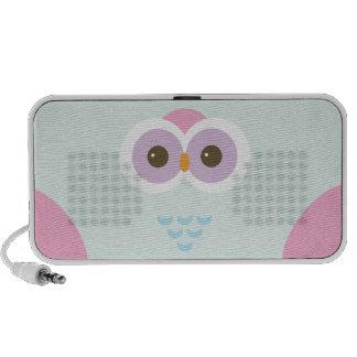 kawaii owl mini speaker